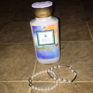 Lotion and bracelet bundle